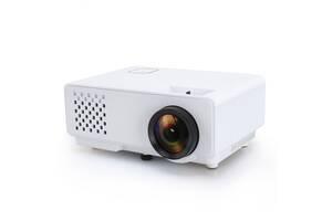Портативный мини видео-проектор Rd-810 HD полноэкранный светодиодный высокого разрешения 1080P Белый