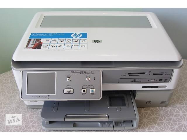 Продам МФУ/Принтер струйный цветной  HP Photosmart C 8183 сканер/копир/Wi-Fi- объявление о продаже  в Киеве