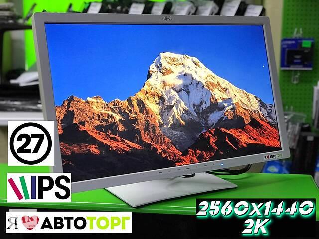 купить бу Профессиональный монитор 2K 2560x1440 | | IPS | HDMI | LED  в Одессе