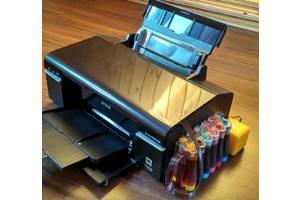 Принтер Epson Stylus Photo T59 С Новой СНПЧ И Заправленными Чернилами