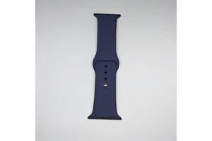 Ремешок Apple Watch 38mm S/M silicone Midnight blue