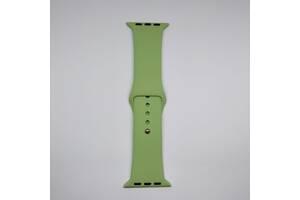 Ремешок Apple Watch 42mm S/M silicone Mint green