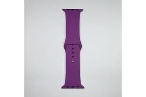 Ремешок Apple Watch 42mm S/M silicone Purple