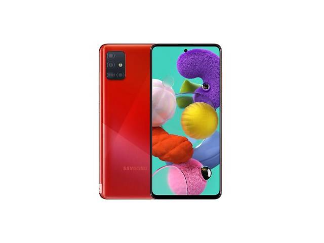 продам Samsung Galaxy A51 SM-A515F 4/64GB Red (SM-A515FZRUSEK) UA (Код товара:10274) бу в Харькове