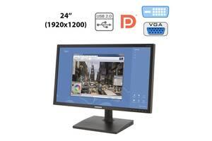"Монитор Samsung S24C450 / 24"" (1920x1200) TFT TN WLED / DVI, VGA, DP, USB-Hub"
