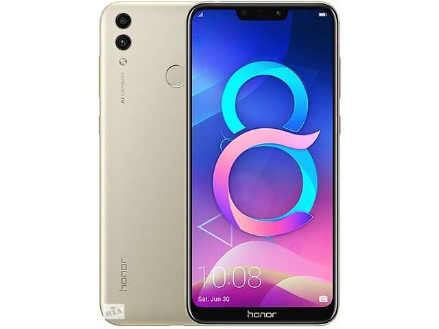 бу Смартфон Honor 8C 4/64GB Gold в Киеве