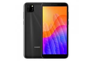 Смартфон HUAWEI Y5p 2/32GB Midnight Black (51095MTV)