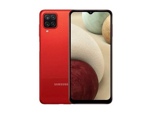 купить бу Смартфон Samsung Galaxy A12 4/64Gb Red (SM-A125FZRVSEK) UA (Код товара:15114) в Харькове