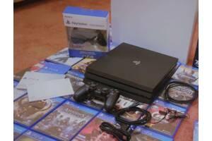 Sony Playstation 4 Pro 1TB 16 Игр На Дисках Игровая Приставка