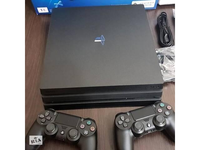 бу Sony Playstation 4 Pro 1TB с двумя джойстиками + 56 Игры в Каменец-Подольском