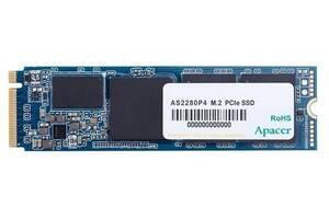 SSD накопитель Apacer M.2 512GB AS2280P4 NVMe PCIe 3.0 x4 2280 3D TLC (AP512GAS2280P4-1)