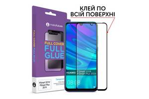 Стекло защитное MakeFuture Huawei P Smart/P Smart+ 2019 Full Cover Full Glue (MGF-HUPS19)