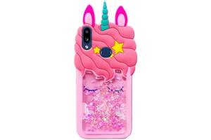 Силиконовый чехол Unicorn 3D для Samsung Galaxy A10s