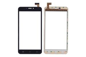 Тачскрин (Сенсорное стекло) для смартфона FPC-60B2-V02 черный для Bravis Zeus, Размер: 165x85 mm, 30 pin