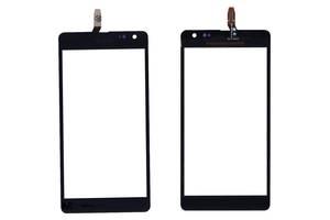 Тачскрин (Сенсорное стекло) для смартфона Microsoft Lumia 535 черный