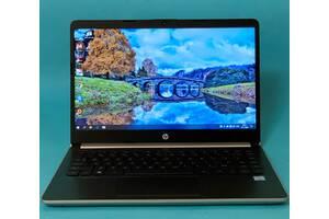 """Тонкий,стильный и легкий ЗОЛОТОЙ ноутбук  HP 14"""" /Core i3-7100U/8GB/SSD 120GB/"""