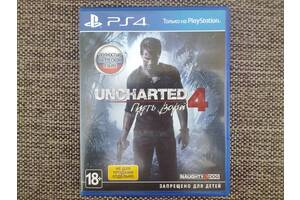 Uncharted - 4 Путь вора. Sony PS 4.