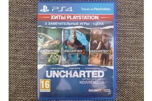 Uncharted - Натан Дрейк. Коллекция. Sony PS 4.