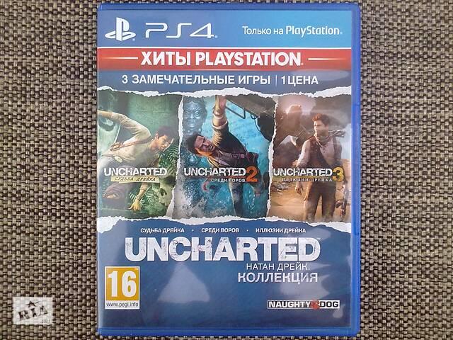 купить бу Uncharted - Натан Дрейк. Коллекция. Sony PS 4. в Сумах