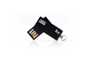 USB флеш накопитель GOODRAM 8GB Cube Black USB 2.0 (UCU2-0080K0R11)