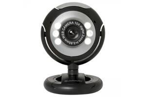 Веб-камера Defender C-110, подсветка, кнопка фото