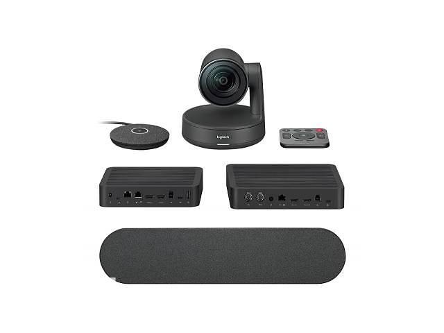 купить бу Веб-камера Logitech Rally Plus Ultra-HD Dual Speaker ConferenceCam (960-001224) в Харькове
