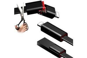 Вечный зарядный кабель для смартфона (1.5 метра)