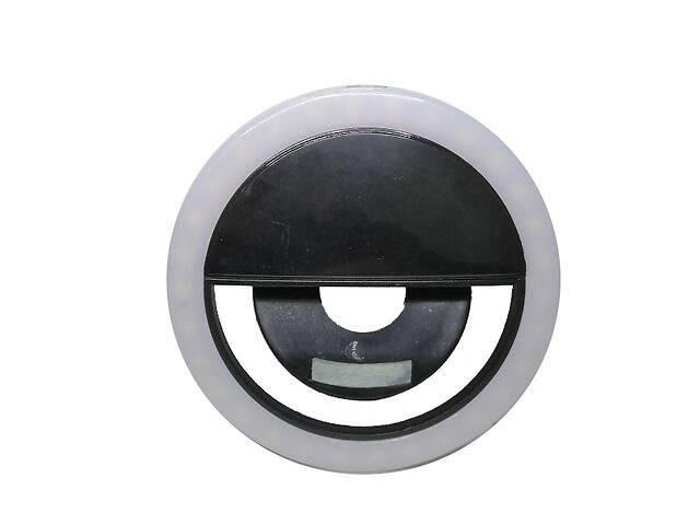 купить бу Вспышка-подсветка Trend-mix селфи-кольцо для телефона Черный (tdx0000599) в Киеве