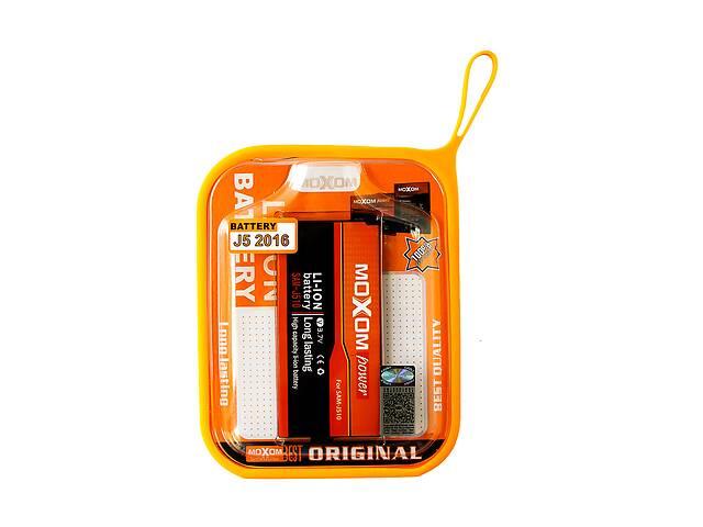 купить бу Встроенный аккумулятор Moxom для Samsung J510 на 3100 mAh Черный в Харькове