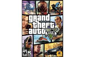 Игра PC Grand Theft Auto V (GTA 5). Premium Online Edition