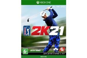 Игра PGA 2K21 (Xbox One, Русские субтитры)