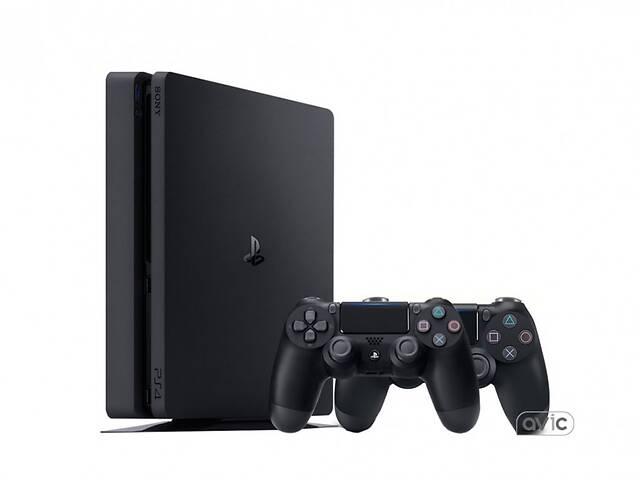 бу Игровая приставка Sony PlayStation 4 Slim PS4 Slim 1TB DualShock Bundle в Харькове