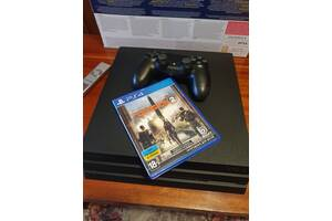 Игровая приставка Sony PlayStation 4Pro 1Tb Black
