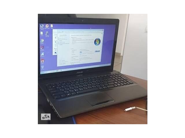 Игровой ноутбук Asus K52J (в отличном состоянии).