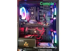 ИГРОВОЙ ПК 1080 1 год гарантии Ryzen 2600 DDR 4 16 гб ssd 240 БП