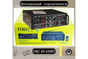 Интегральный стереоусилитель UKC AV-329BT