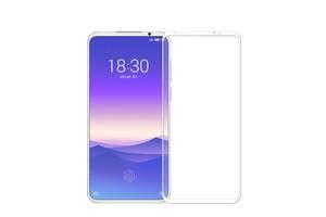 Защитное стекло LUX для Meizu 16S Pro  Full Сover белый 0,3 мм в упаковке