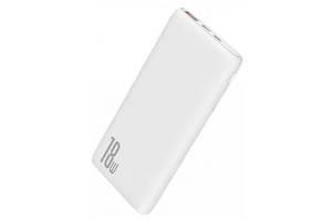 Зовнішній акумулятор Baseus Bipow PD + QC Power Bank 10000mAh 18W (PPDML-02)White