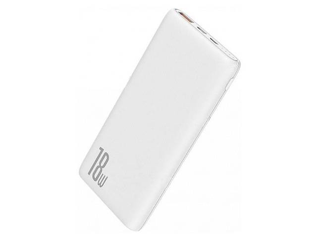 Зовнішній акумулятор Baseus Bipow PD + QC Power Bank 10000mAh 18W (PPDML-02)White- объявление о продаже  в Самборе