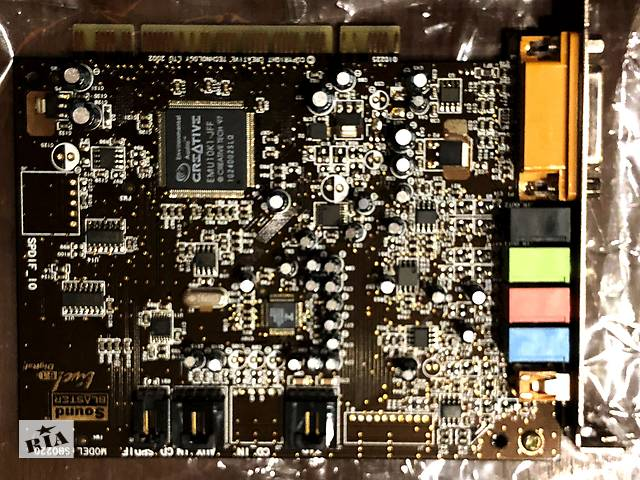 купить бу Звуковая карта Creative SB Live Sound Blaster  в Тернополе