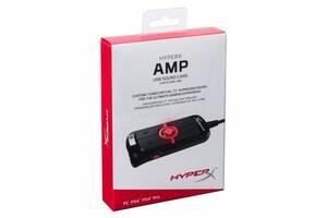 Звуковая плата HyperX Amp USB Virtual 7.1 PC/PS4 (HX-USCCAMSS-BK)