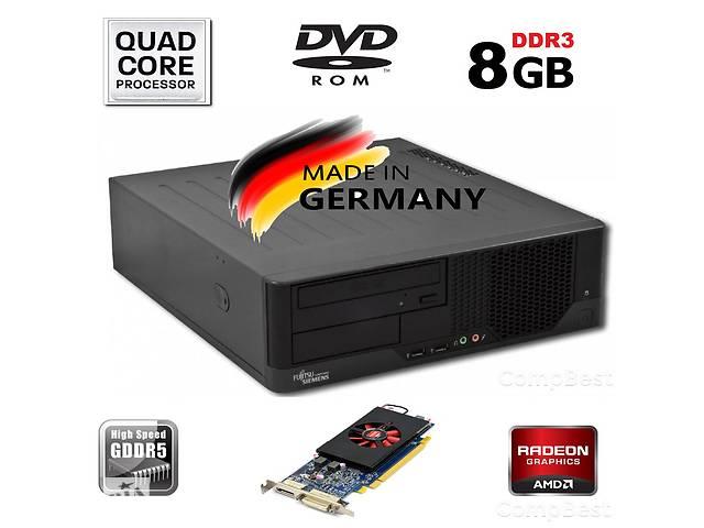 бу Компьютер Intel Q2Q / 8GB RAM / 250GB HDD / Radeon 1GB GDDR5 в Киеве