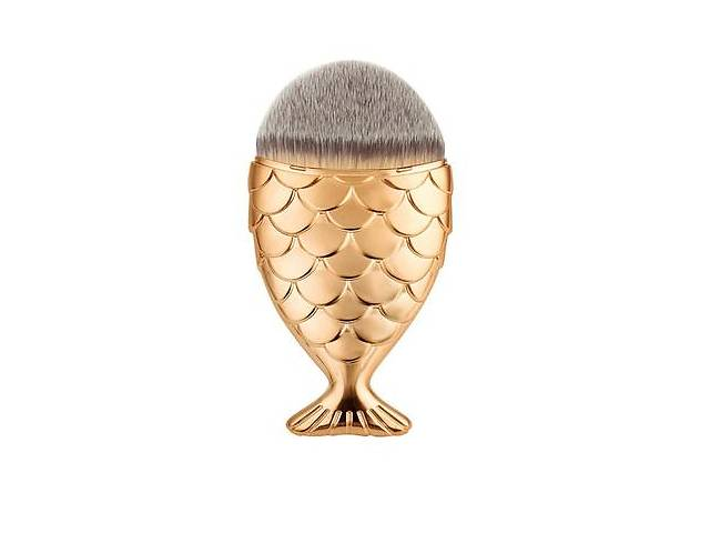 Кисть для макияжа Рыбка (натуральный ворс)