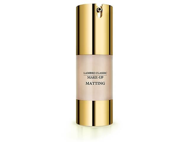 продам Тональный крем с матирующим эффектом Lambre Matting Make UP Gold New 30 мл 01 R142338 бу в Одессе
