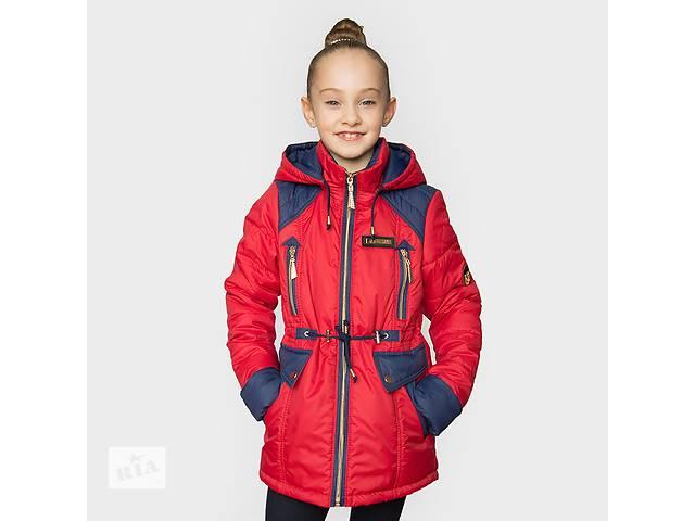 бу Демісезонна куртка-парку для дівчаток 5e6792f4519e1