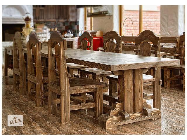 бу Деревянные столы в Киеве