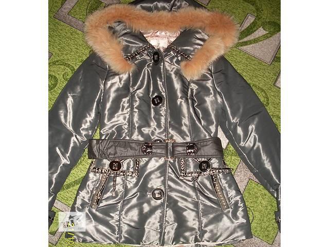 продам ДЕШЕВО!Зимняя курточка 46/48р(симпатичный пошив) бу в Новой Каховке