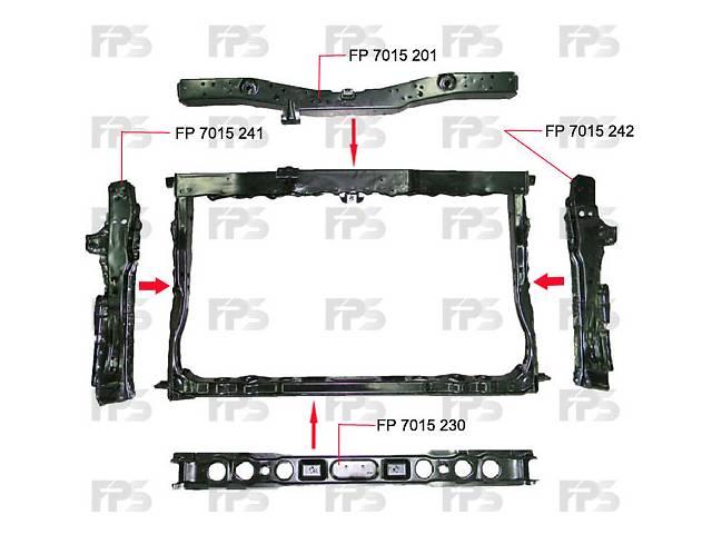 купить бу FP 7015 242 Панель передняя правая на Toyota Corolla, Тойота Королла 07-09 в Києві