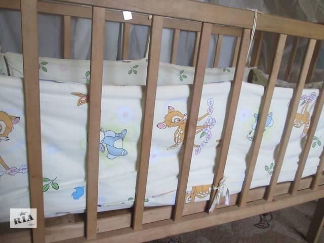 купить бу Детская кроватка с матрасом  в Сумах