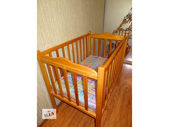 купить бу Детская кроватка с матрасиком в Запорожье